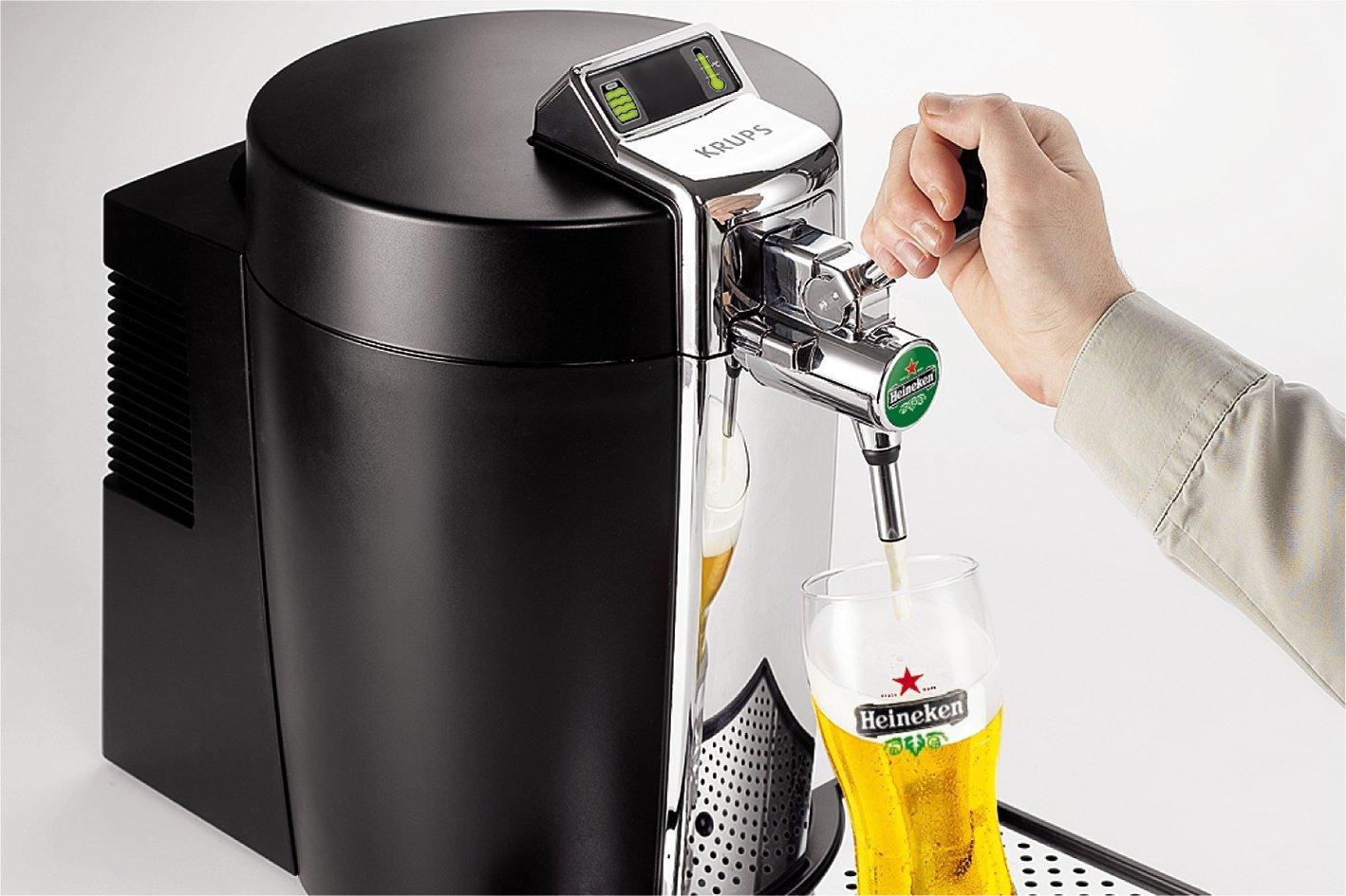 Krups BeerTender Bierzapfmaschine / amazon.de
